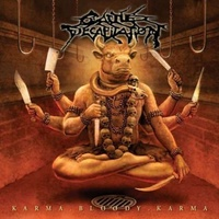 CATTLE DECAPITATION - Karma Bloody Karma Ltd. Ed. (Blood On Blood Coulo