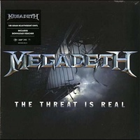 MEGADETH - Threat Is Real / Foreign Policy [12in] (White Vinyl, 2 Brand New Songs, Limited To 4000, Indie-exclusive)