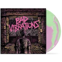 A DAY TO REMEMBER - Bad Vibrations (Limited Coke Bottle Green & Baby Pink Coloured Vinyl)