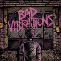 A DAY TO REMEMBER - Bad Vibrations (Coke Bottle/ Pink Coloured Vinyl)