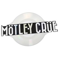 MOTLEY CRUE - Kickstart My Heart / Home Sweet Home (Limited Logo Shaped Picture Disc Vinyl)