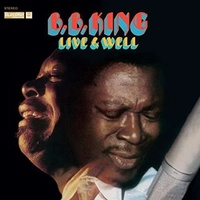 B.B. KING - Live & Well -gatefold-