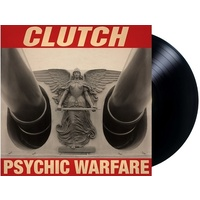 CLUTCH - Psychic Warfare (Black Vinyl In Gatefold Sleeve)
