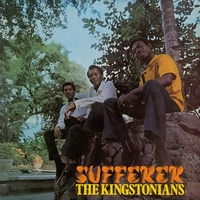 KINGSTONIANS - Sufferer (Limited Orange Coloured Vinyl)