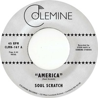 SOUL SCRATCH - America (Red/blue Vinyl)
