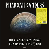 PHAROAH SANDERS - Live At Antibes Jazz Festival, Juan-les-pins, July 21st, 1968