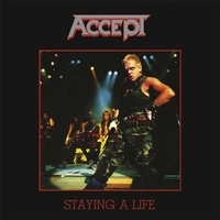 ACCEPT - Staying A Life (2lp Coloured)